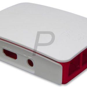 H17K15 - RASPBERRY PI Boitier Pi 3 Typ B rouge/Blanc [2519567]