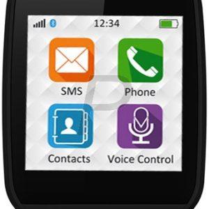 H19A50 - MY KRONOZ ZeCircle ZeTel Montre qui suis vos activités quotidiennes 3 jours / 3h en communication Black Donne l heure Ecran tactile [ZeTel Black]