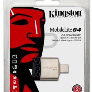 H27E30 - KINGSTON USB 3 MobileLite G4 prend en charge les formats SD/SDHC/SDXC [FCR-MLG4]