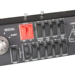 H27J12 - LOGITECH G Saitek Pro Flight Switch Panel tbd [945-000012]