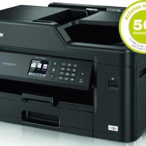 H30K22 - BROTHER MFC-J5330DW A3/A4 [imprimante recto verso, copieur, FAX et scanner A4] + Encres - Rabais de 50.-