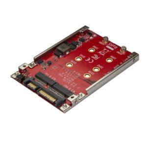 """I06K12 - STARTECH Adaptateur pour deux disques SSD M.2 vers SATA dans baie de 2,5"""" - RAID"""