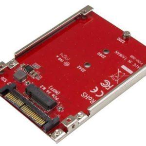 I06K13-REC - RECONDITIONNÉ : STARTECH Adaptateur disque dur M.2 vers U.2 pour SSD M.2 PCIe NVMe - SFF-8639
