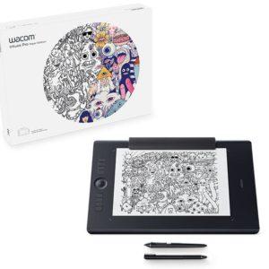 I07C16 - WACOM INTUOS PRO L PAPER SOUTH Intuos Pro Paper Edition M South, 430 x 287 x 8mm, Pro Pen 2, Finetip Pen, Paper Clip, 8192 pen pressure levels, 8 ExpressKeys, Bluetooth, A4 [PTH-860P-S]