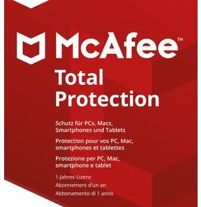 I07H12 - MCAFEE Total Protection 2018  1 Device (Code in a box) [MTP00GNR1RAA]