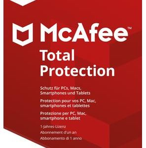 I07H13 - MCAFEE Total Protection 2018  5 Devices (Code in a box) [MTP00GNR5RAA]