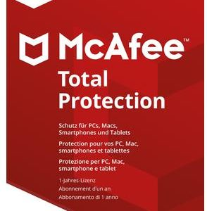 I07H14 - MCAFEE Total Protection 2018 10 Devices (Code in a box) [MTP00GNRXRAA]