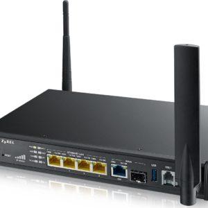 I08B18 - ZYXEL SBG3600-N (3816) Routeur haut débit avec modem LTE et WiFi N pour la connexion des filiales/bureaux à domicile avec VDSL analogique ou fibre.
