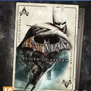 I08C32 - WARNER BROS. PS4 Batman: Return to Arkham (PEGI) [1000600535]