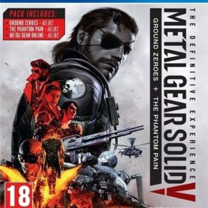 I08C35 - KONAMI PS4 Metal Gear Solid 5: The Definitive Experience (PEGI) [116687440009]