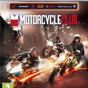 I08C38 - BIGBEN INTERACTIVE PS4 Motorcycle Club (PEGI)