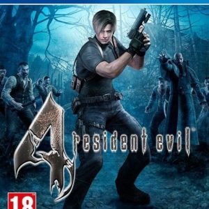 I08C42 - CAPCOM PS4 Resident Evil 4 HD (PEGI)