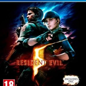I08C43 - CAPCOM PS4 Resident Evil 5 HD (PEGI)