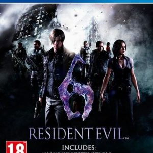 I08C44 - CAPCOM PS4 Resident Evil 6 HD (PEGI)