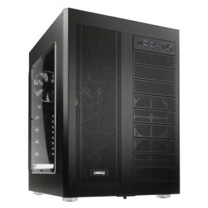 I10C13 - Boitier Tour LIAN LI PC-D600WB Big-Tower Black ( 10 x 5.25 ) - No Power