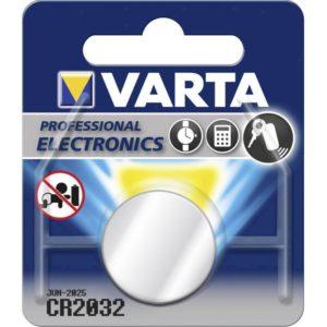I11E07 - CR2032 - VARTA Pile Lithium 3V 230mAh [6032101401]