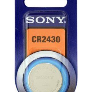 I11E09 - CR2430 - SONY Pile Lithium 3V 280mAh [CR2430B1A]
