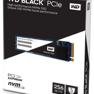 I16A10 - SSD  256 GB M.2 PCIe WESTERN DIGITAL SSD Black [WDS256G1X0C]