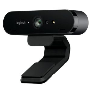 I16B04 - LOGITECH Brio Webcam for Business, 4K Ultra HD-Webcam avec RightLight 3 et HDR [960-001106]