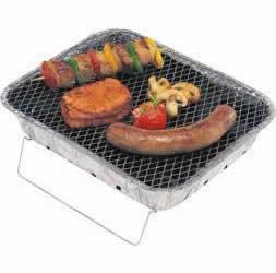 I16E11 - LANDMANN Barbecue-Set FSC Grille rectangulaire (surfaces grill: 31x)~ (24cm) (L 310 mm) (H 75 mm) (P 240 mm) (poids 500 gr) [750.11901.00]