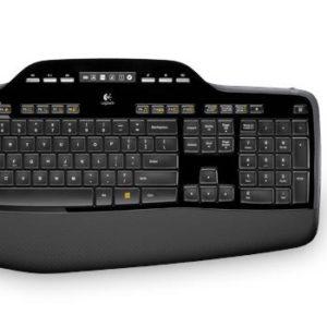 I17B06 - LOGITECH clavier US Cordless Desktop MK710 Unifying - Quand confort et productivité ne font qu'un [920-002442]