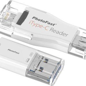 I20L05 - PHOTOFAST iTypeC Reader ITCREADER for iPhone, iPad, Mac & PC [ITCREADER4GB]