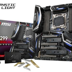 I21F01 - MSI X299 GAMING PRO CARBON ( Intel X299 - Socket 2066 ) 4 x PCIe 3.0