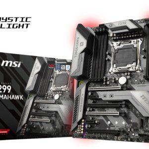 I21F09 - MSI X299 TOMAHAWK ( Intel X299 - Socket 2066 ) 4 x PCIe 3.0