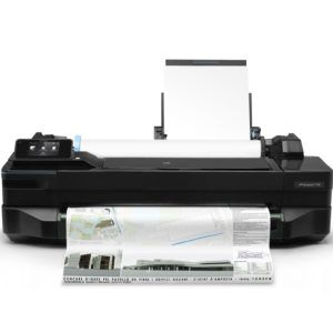 I22L01 - HP DesignJet T120 - 24 pouces, Rollen bis 610mm A1, USB 2.0, LAN, WLAN, AirPrint, ePrint, [CQ891C#B19]