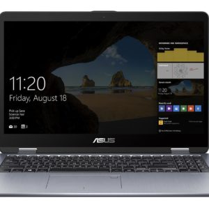 "I23J51 - ASUS VivoBook Flip 15 TP510UA-E8077T - Intel i7-8550U/15,6"" Touch/8Gb/SSD 128Gb + Hdd 500Gb/Windows 10 Home"