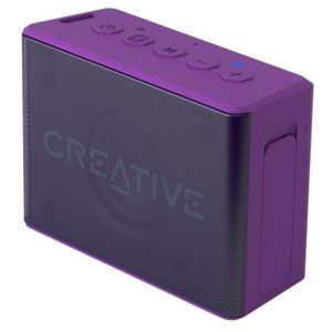 I24E03 - CREATIVE MUVO 2C - purple Bluetooth 4.2 / 6h playtime / USB rechargeable / compatibility with iOS and Android / splash proof / microSD card [51MF8250AA009]