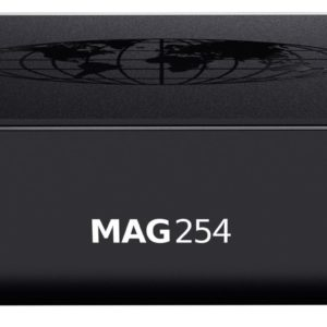 I27B01 - INFOMIR MAG254, IPTV Set-Top Box Linux Receiver, WiFi Ready, 512Mb RAM