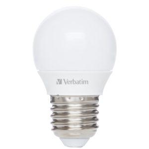 J06D29 - E27 - Ampoule LED VERBATIM LED Mini Globe E27 4.5W-30W ND 2700K 350lm Frost [52642]