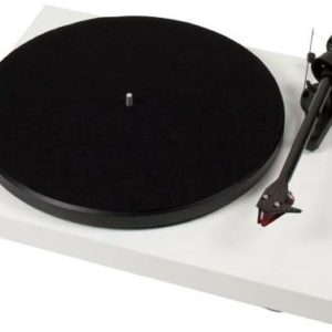 J06F68 - PRO-JECT Debut Carbon DC 2M Red, weiss Plattenspieler [Debut Carbon DC 2M Red weiss]