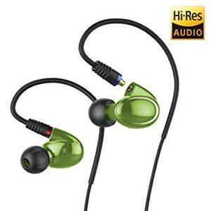 J07F17 - FIIO FH1, In-Ear Kopfhörer Fernbedienung, grün [FiiO FH1 grün]