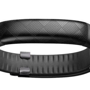 J09D04 - JAWBONE Up 2 Noir Bracelet qui suit vos activités quotidiennes Suit le statut de votre sommeil Alarme intelligente discrète Journal photo alimentaire intelligent [JL03-0303AGD-EU1]