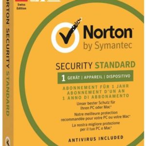 J16J14 - SYMANTEC Norton Security Standard 3.0 1 User 1 PC (Code in a box) [21355404]