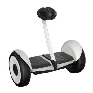 J21C69 - SEGWAY MiniLITE Connection Bluetooth Blanc Vmax : 16 km/h Autonomie 18 km max Poids : 12.5 kg Barre de contrôle au genou [27.10.0000.10]