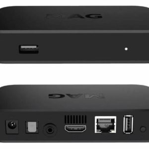 J21H04 - INFOMIR MAG322W1, IPTV Set-Top Box Linux Receiver, inclus. WiFi, 1GB RAM