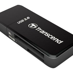 J23G14 - TRANSCEND F5 Multi-Cardreader TS-RDF5K USB 3.0 black