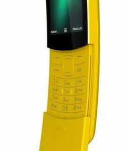 "J26C03 - NOKIA 8110 4G Yellow 2.45"", 4GB, SIM 1 Micro / SIM 2 Nano, 2MP [8110-yellow]"
